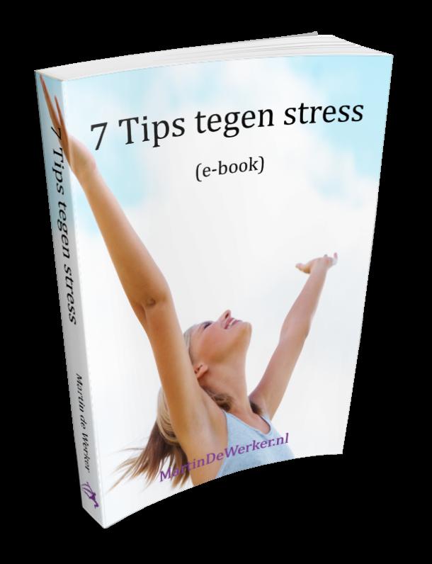 Ontvang 7 Tips tegen stress